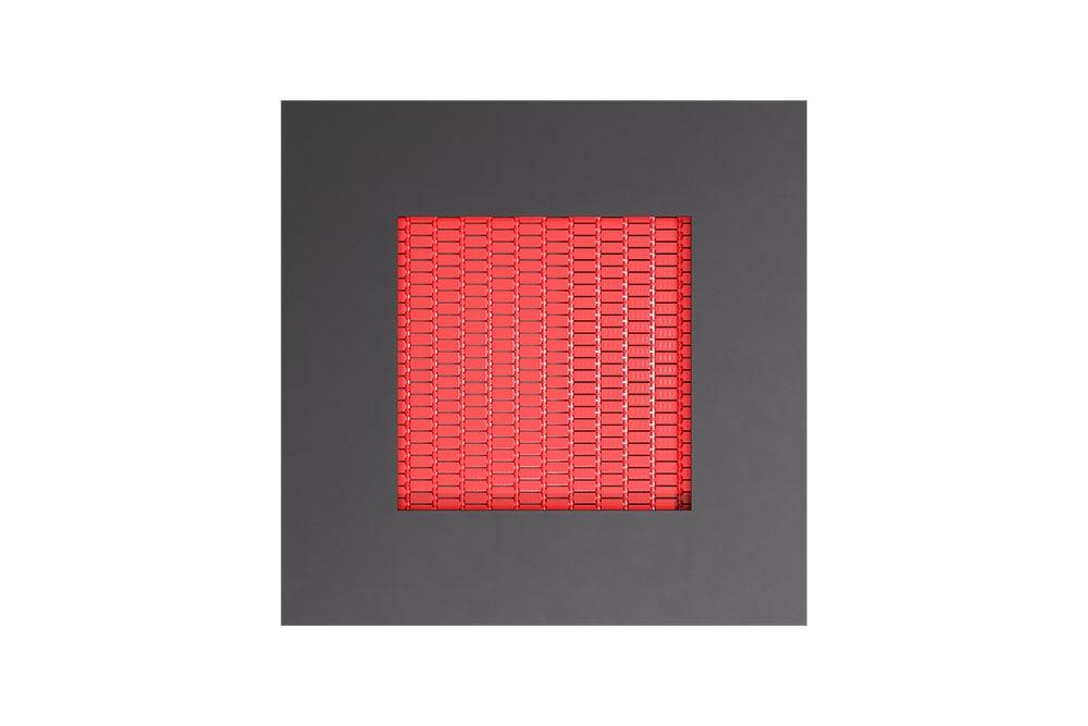 Батут Квадрат 135 красного цвета, фото 3