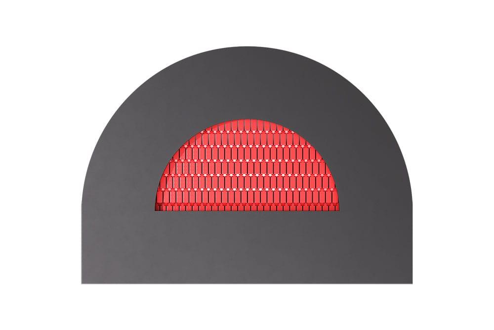 Батут Полукруг красный, фото 3
