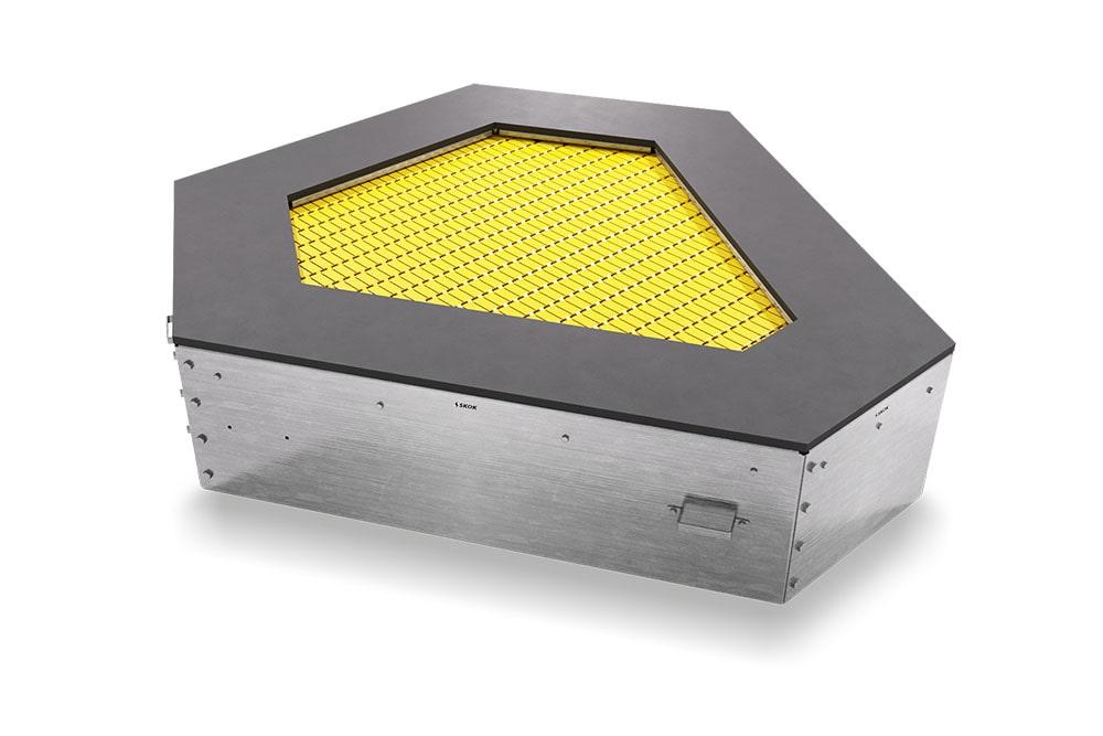 Желтый батут Сектор 6S