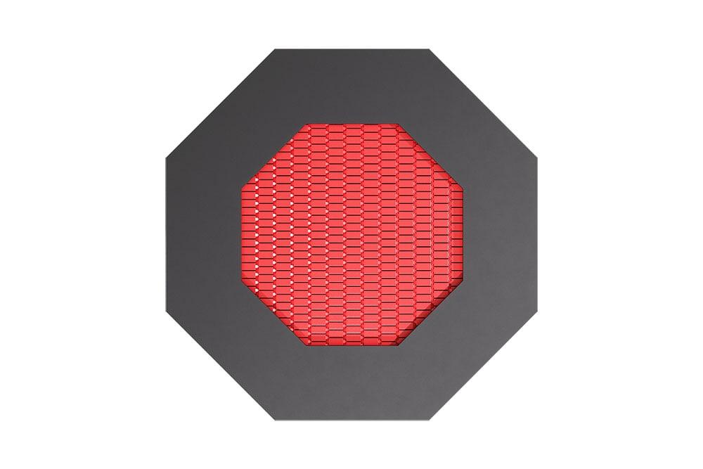 Батут Восьмиугольник красного цвета, фото 3